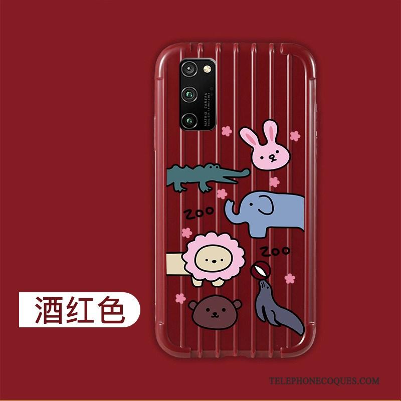 Coque Pour Honor View30 Net Rouge Tout Compris Incassable Coque De Téléphone Protection
