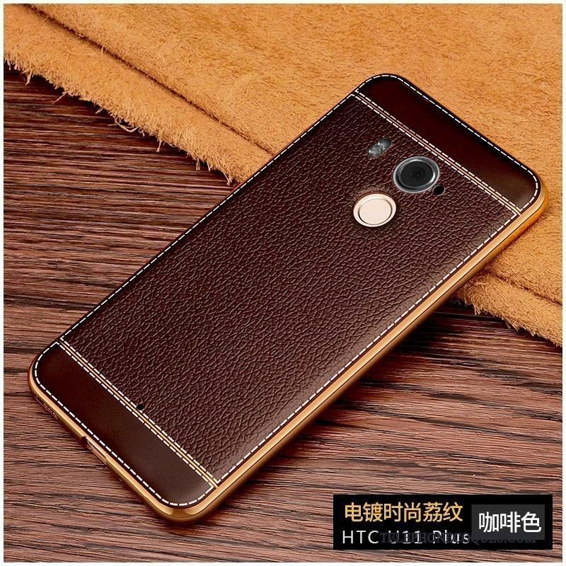 Coque Pour Htc U11+ Silicone Créatif Fluide Doux Protection Étui Téléphone Portable