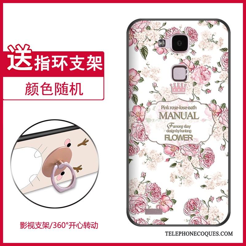 Coque Pour Huawei Ascend Mate 7 Tout Compris Silicone Fluide Doux Créatif Incassable Étui