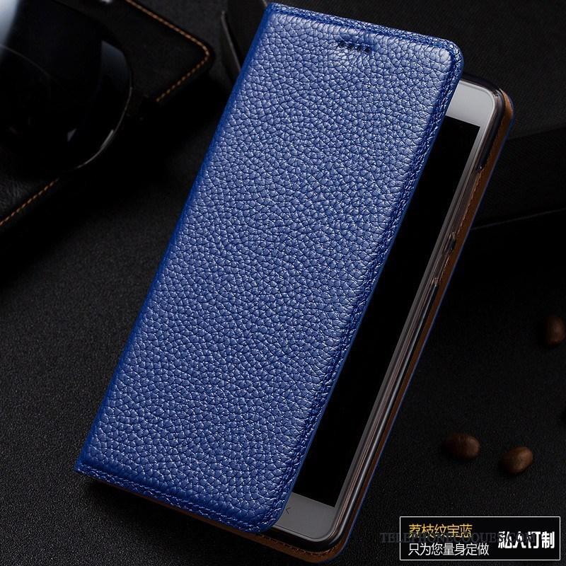 Coque Pour Huawei G9 Lite De Téléphone Protection Étui Téléphone Portable Cuir Véritable Incassable
