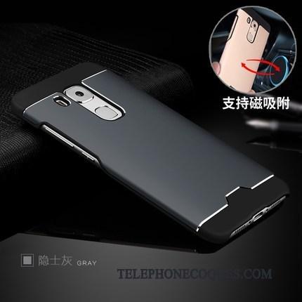 Coque Pour Huawei G9 Plus Délavé En Daim Business Incassable Couvercle Arrière Difficile Étui