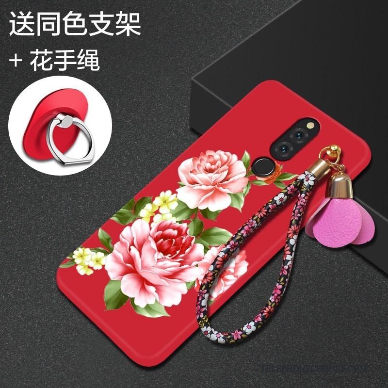 Coque Pour Huawei Mate 10 Lite Protection Silicone Incassable De Téléphone Fluide Doux Créatif