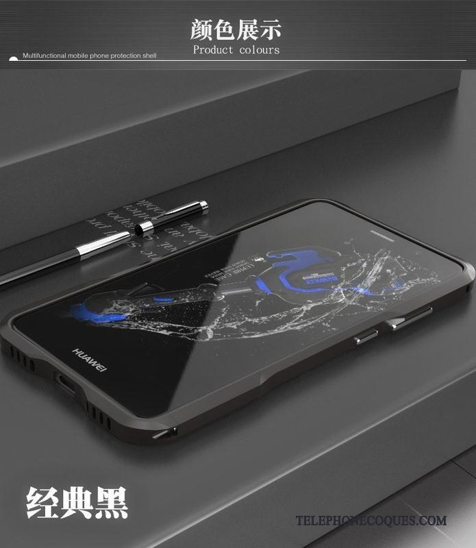 Coque Pour Huawei Mate 9 Incassable Étui Très Mince Border Protection