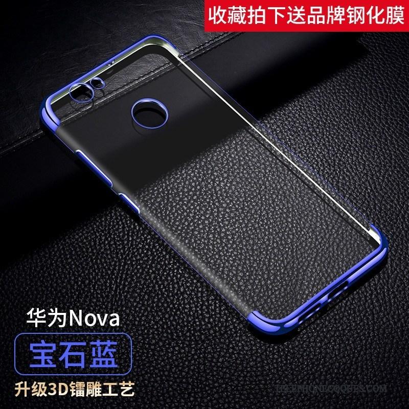 Coque Pour Huawei Nova Protection Fluide Doux Étui De Téléphone Jeunesse Incassable
