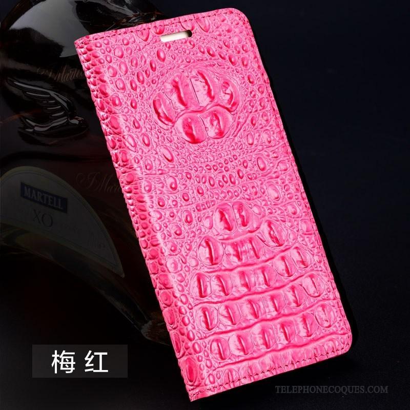 Coque Pour Huawei Nova Silicone Étui En Cuir Cuir Véritable Personnalisé Protection Clamshell
