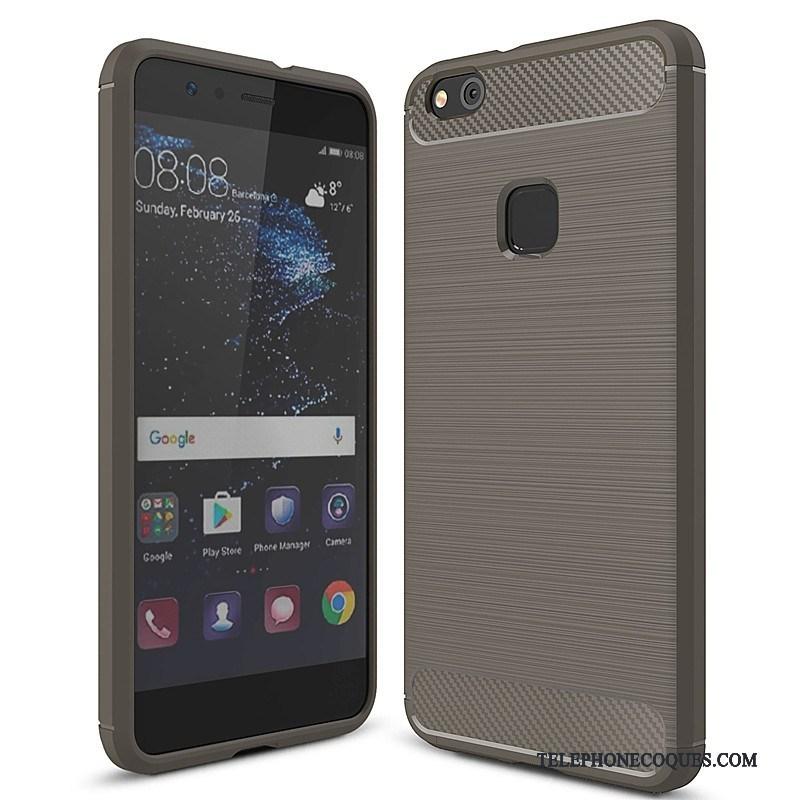 Coque Pour Huawei P10 Lite Protection Étui Rouge Fluide Doux Jeunesse
