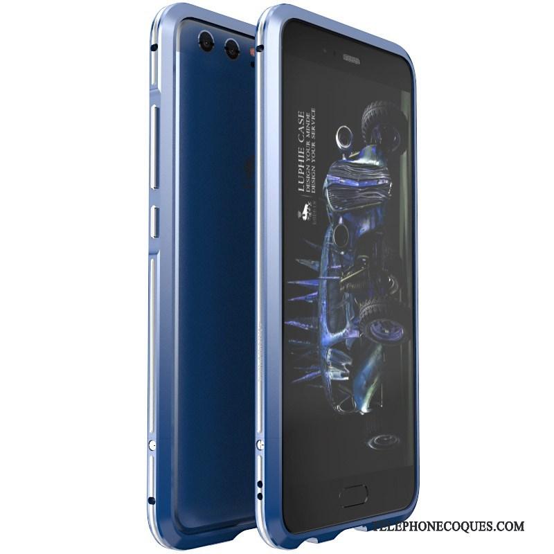Coque Pour Huawei P10 Plus Étui Jeunesse Métal Border De Téléphone