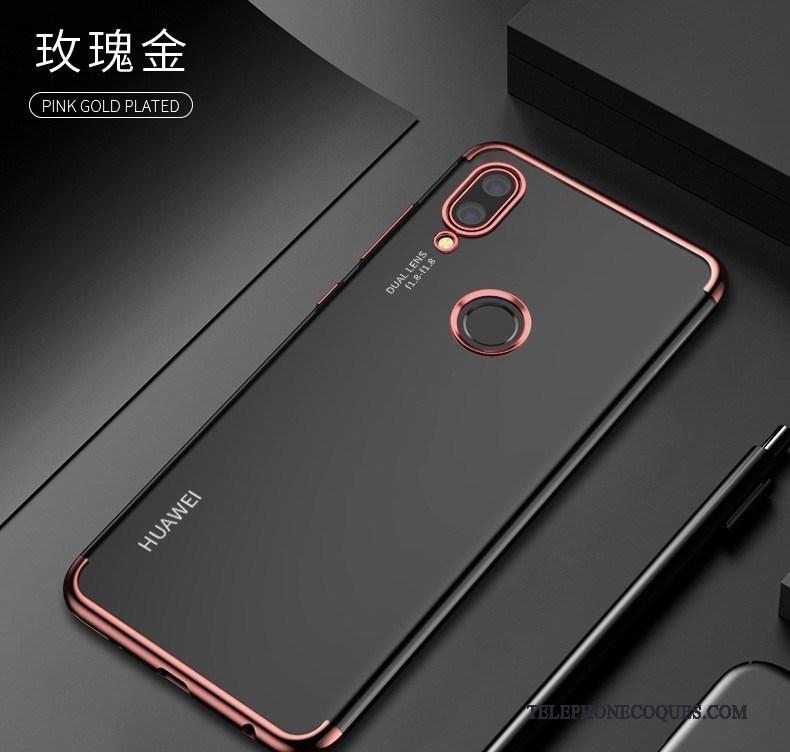 Coque Pour Huawei P20 Lite Protection Étui De Téléphone Téléphone Portable Fluide Doux Rouge