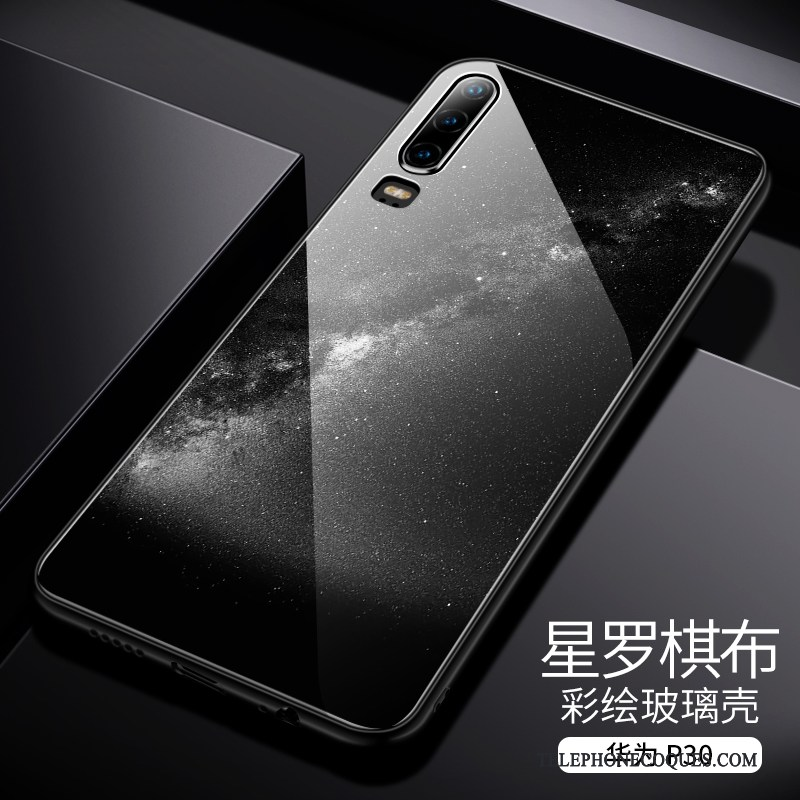 Coque Pour Huawei P30 Incassable Bleu De Téléphone Tout Compris Très Mince Nouveau