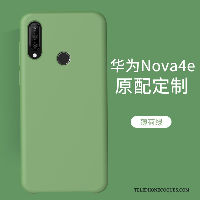 Coque Pour Huawei P30 Lite De Téléphone Net Rouge Incassable Vert Marque De Tendance Luxe