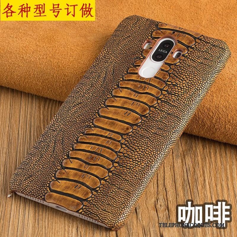 Coque Pour Huawei P9 Lite Luxe Couvercle Arrière Jeunesse De Téléphone Nouveau Rouge