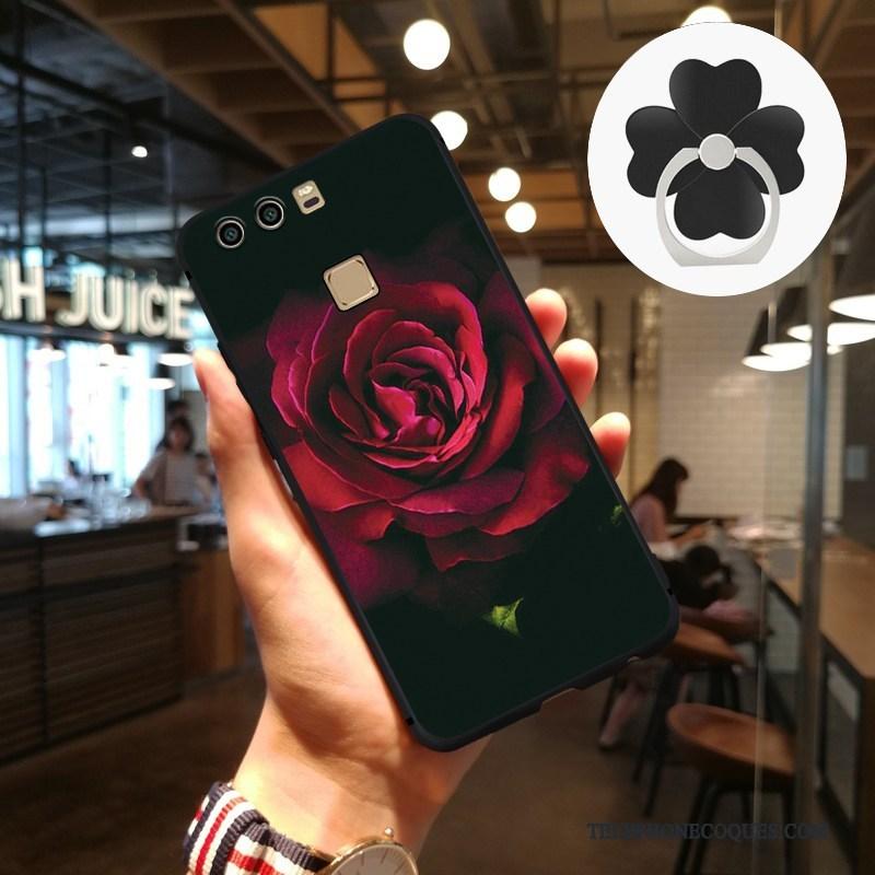 Coque Pour Huawei P9 Tendance Personnalité Art Protection Créatif Étui