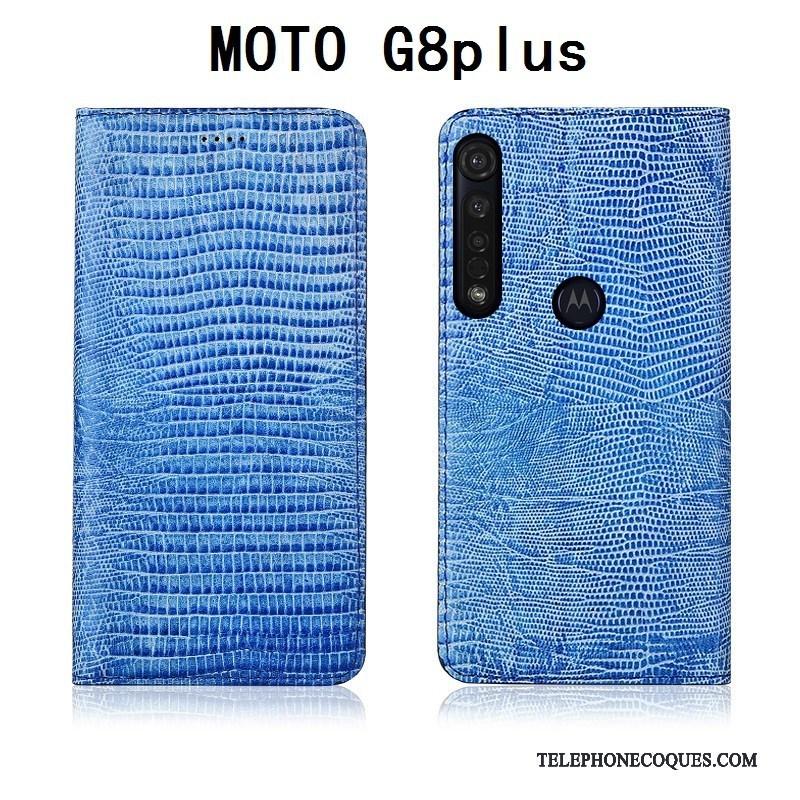 Coque Pour Moto G8 Plus Silicone Étui Fluide Doux Étui En Cuir Housse Protection