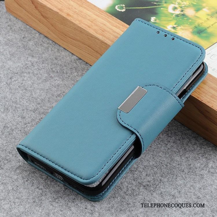 Coque Pour Nokia 7.2 Étui Modèle Fleurie Téléphone Portable Peau De Mouton Rouge De Téléphone