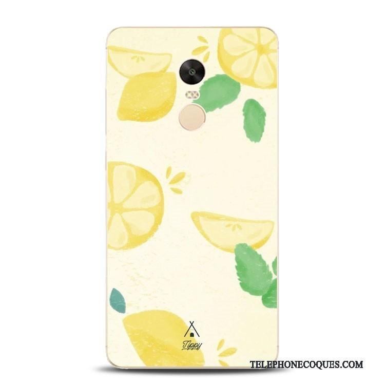 Coque Pour Redmi Note 4x De Téléphone Pastèque Rouge Incassable Fluide Doux Gaufrage