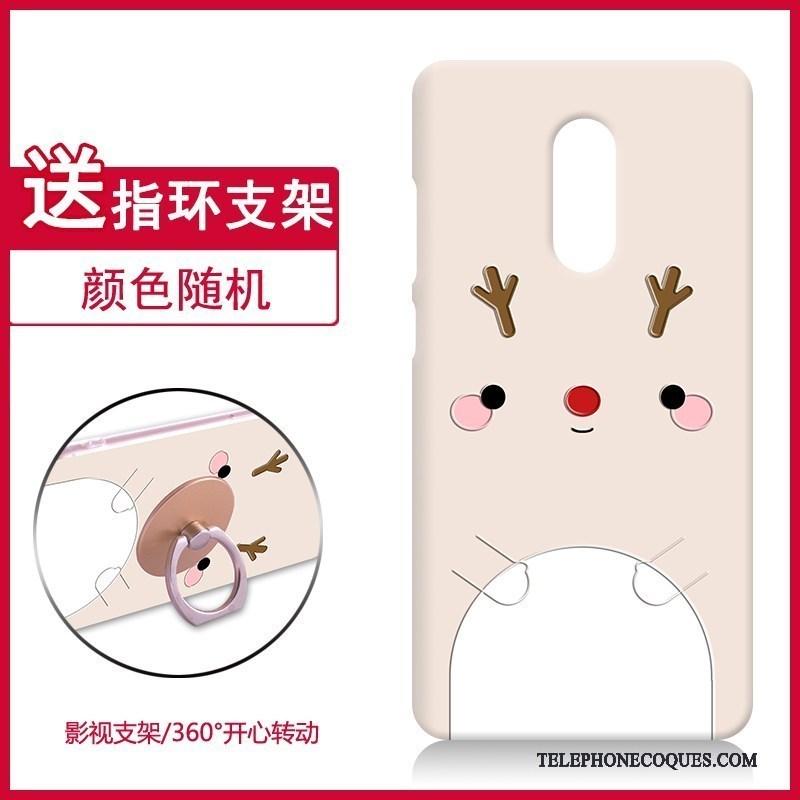 Coque Pour Redmi Note 4x Rouge Rose Créatif Fluide Doux De Téléphone Nouveau
