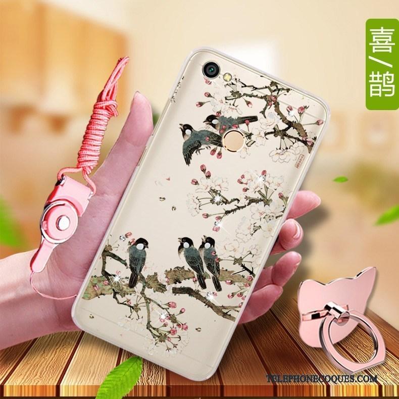 Coque Pour Redmi Note 5a De Téléphone Téléphone Portable Protection Fluide Doux Petit Haute