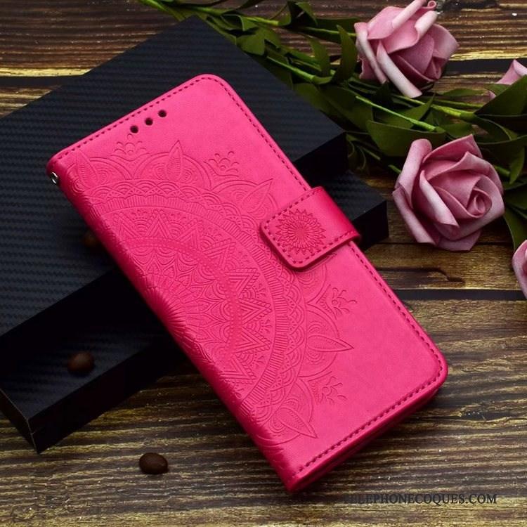 Coque Pour Samsung Galaxy A20e Clamshell De Téléphone Violet Étoile Étui En Cuir Fluide Doux