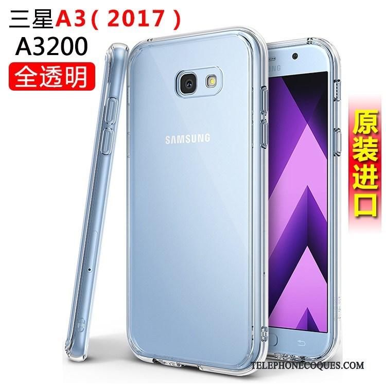 Coque Pour Samsung Galaxy A3 2017 De Téléphone Étoile Incassable Protection Étui Silicone