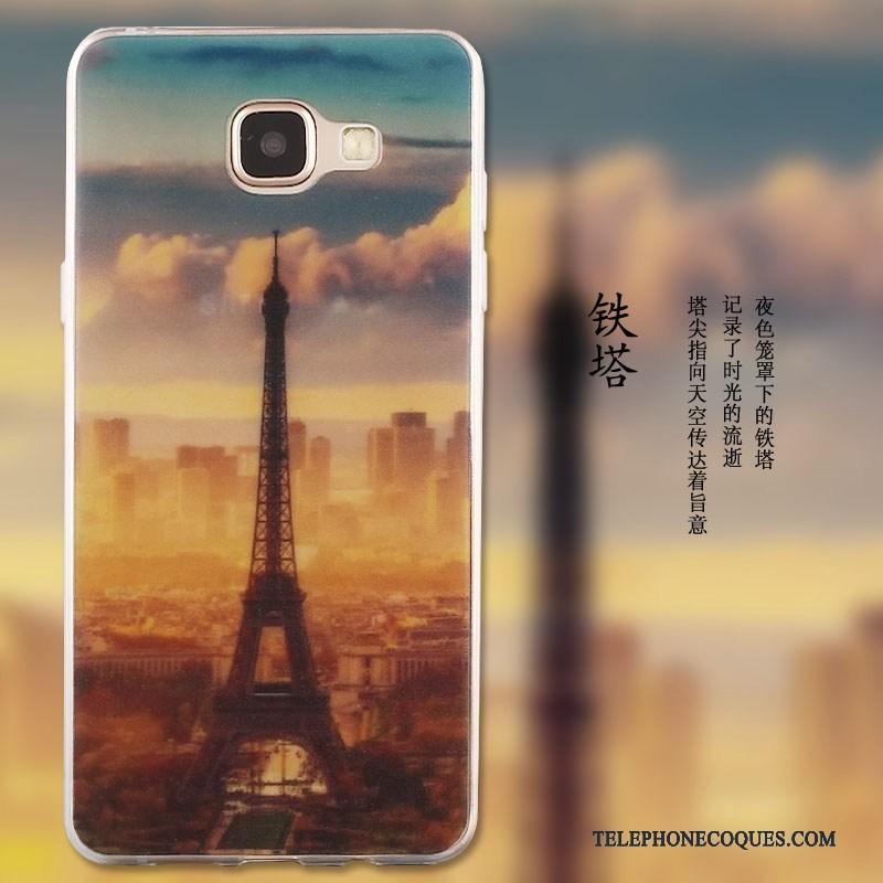 Coque Pour Samsung Galaxy A5 2016 Silicone Étui Étoile Protection Tendance Peinture