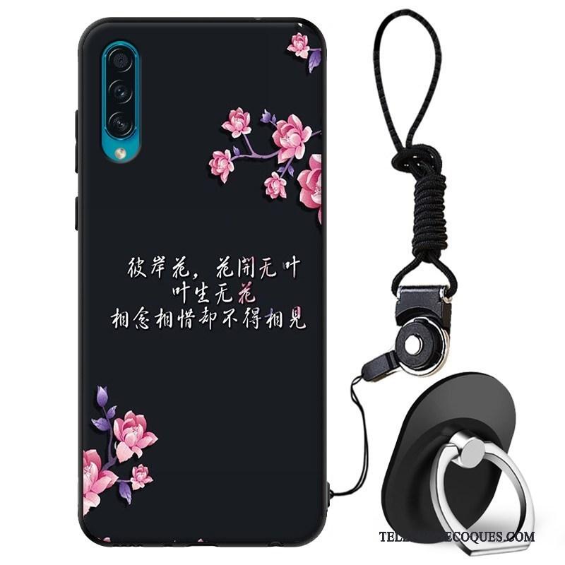 Coque Pour Samsung Galaxy A50s Protection Étui Fluide Doux Étoile Délavé En Daim De Téléphone
