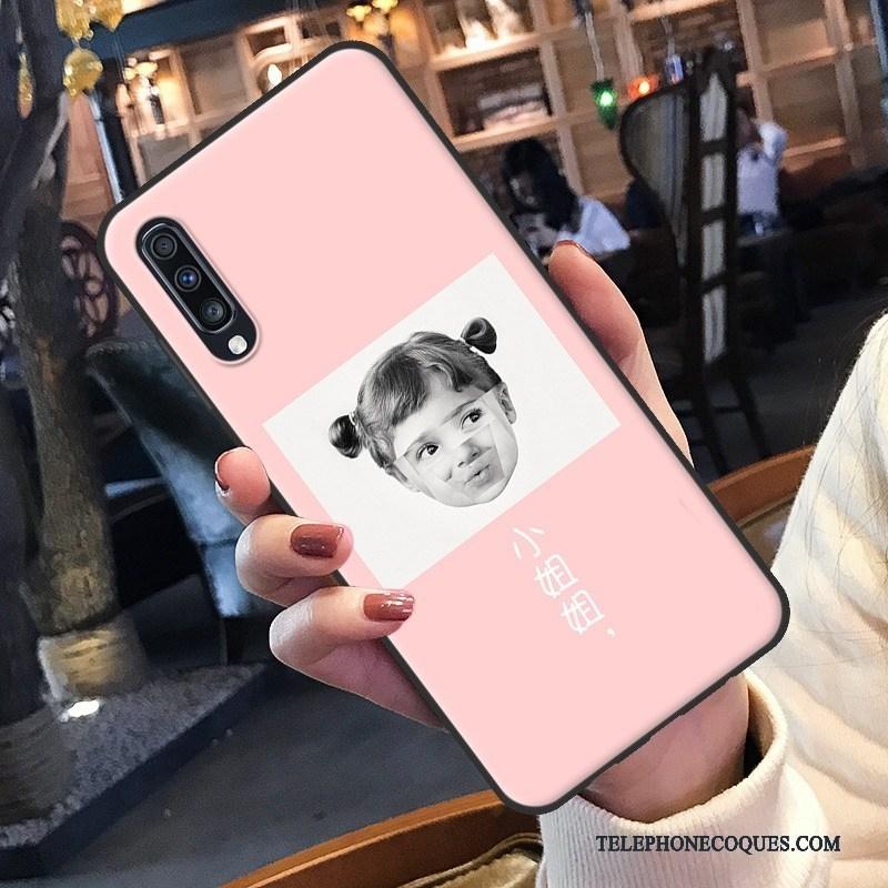 Coque Pour Samsung Galaxy A70s Créatif Fluide Doux Net Rouge De Téléphone Étoile