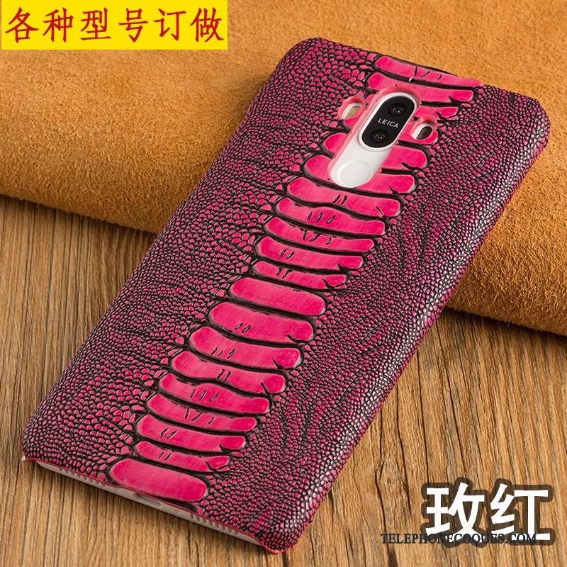 Coque Pour Samsung Galaxy A8 Étoile Légère Couvercle Arrière Coque De Téléphone Cuir Véritable