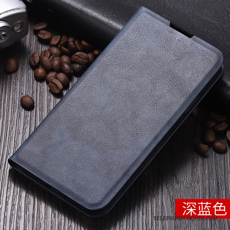 Coque Pour Samsung Galaxy A80 Fluide Doux Housse Tout Compris Business Incassable Étui En Cuir