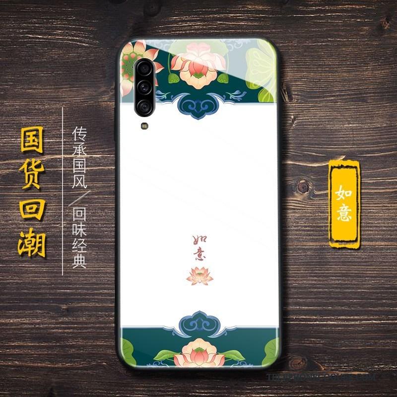 Coque Pour Samsung Galaxy A90 5g Style Chinois Étoile Nouveau Incassable Noir