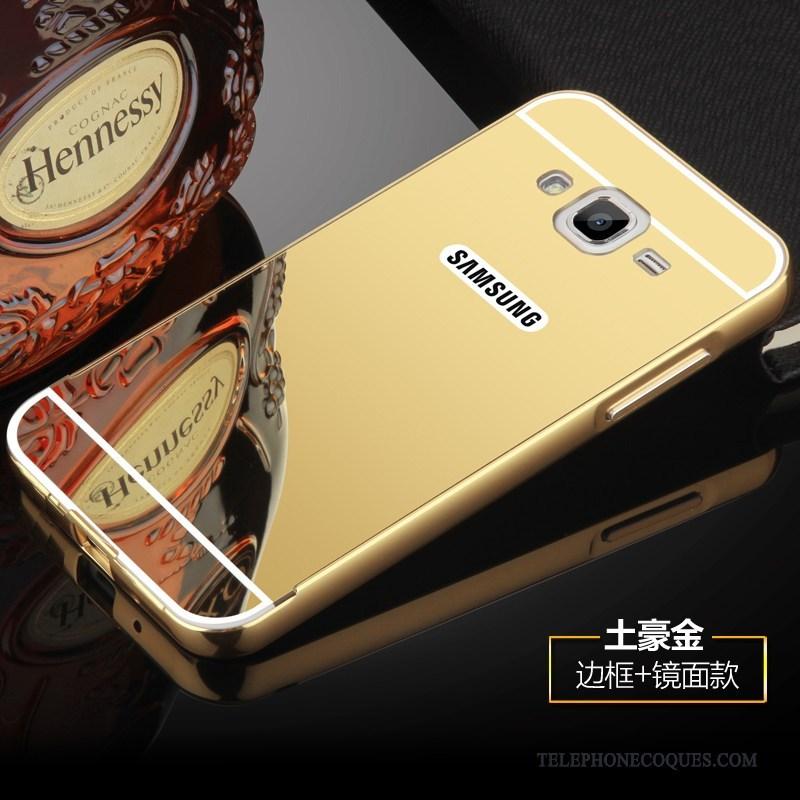 Coque Pour Samsung Galaxy J3 2016 Border Étoile Étui Métal De Téléphone Protection