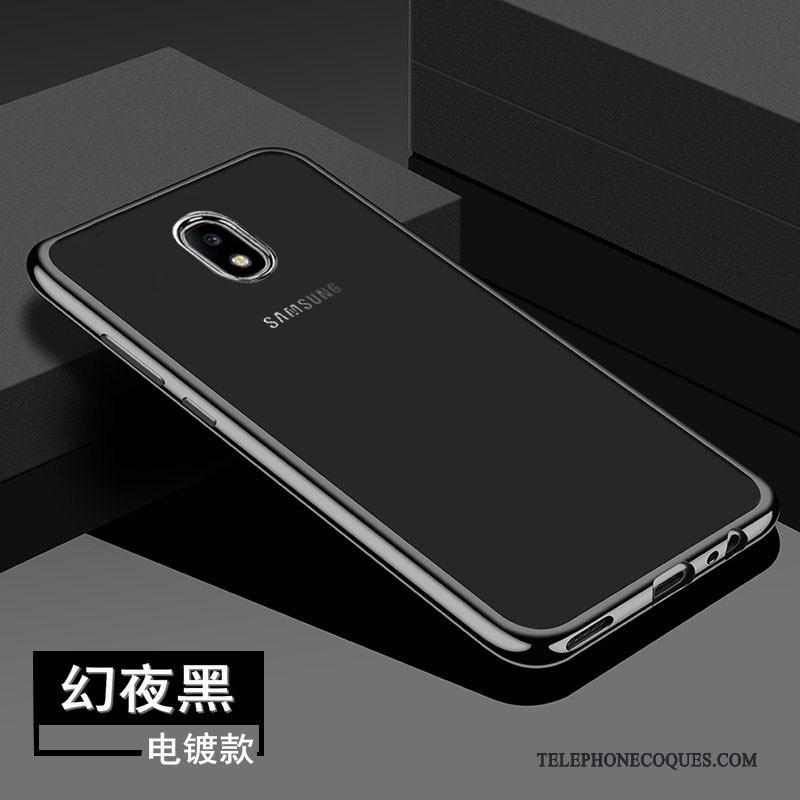 Coque Pour Samsung Galaxy J3 2017 Étoile Tout Compris Incassable De Téléphone Noir Protection