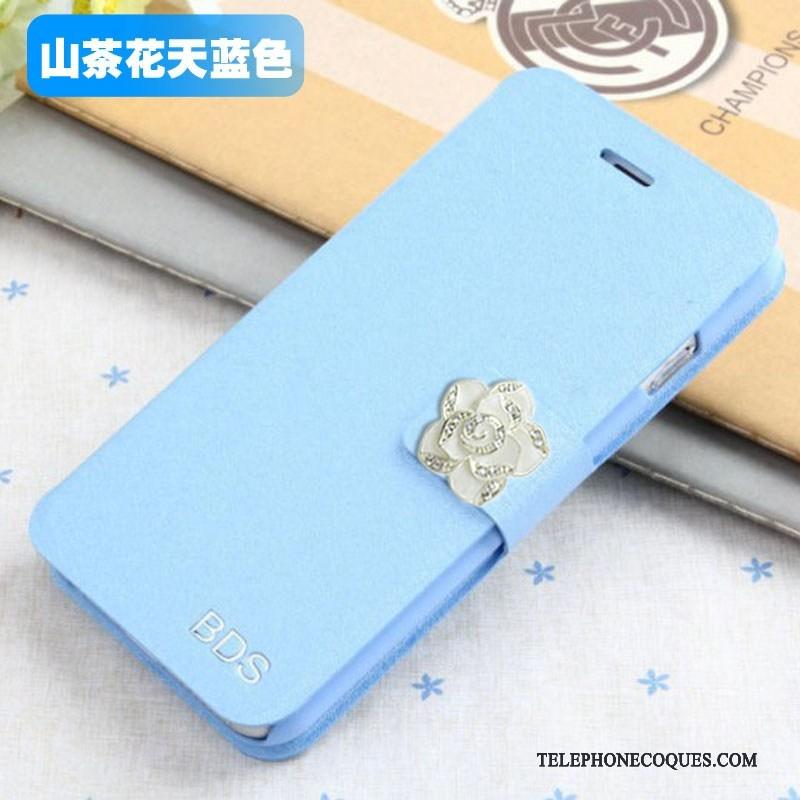 Coque Pour Samsung Galaxy J5 2015 Étui En Cuir Téléphone Portable Bleu De Téléphone Protection Étoile