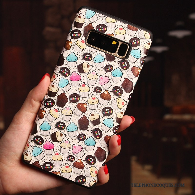 Coque Pour Samsung Galaxy Note 8 Incassable Étoile Étui Protection Dessin Animé Tout Compris