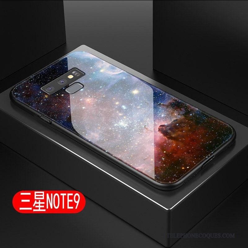 Coque Pour Samsung Galaxy Note 9 De Téléphone Ciel Étoilé Étui Protection Étoile Difficile