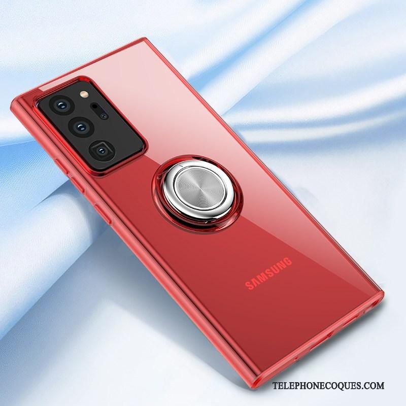 Coque Pour Samsung Galaxy Note20 Ultra Incassable Étoile Support Transparent Personnalité Magnétisme