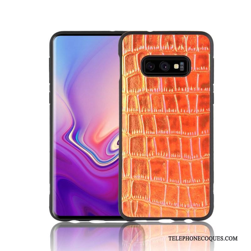 Coque Pour Samsung Galaxy S10e Créatif Violet Couleur Étui Fluide Doux De Téléphone