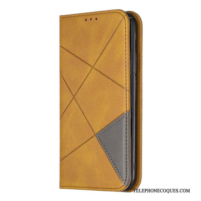 Coque Pour Samsung Galaxy S20 Protection Étui En Cuir Silicone Étoile Incassable Jaune