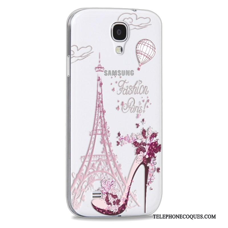 Coque Pour Samsung Galaxy S4 Multicolore Fluide Doux Incassable De Téléphone Tendance Dessin Animé