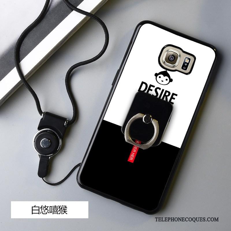 Coque Pour Samsung Galaxy S6 Edge Protection De Téléphone Dessin Animé Fluide Doux Incassable Étui