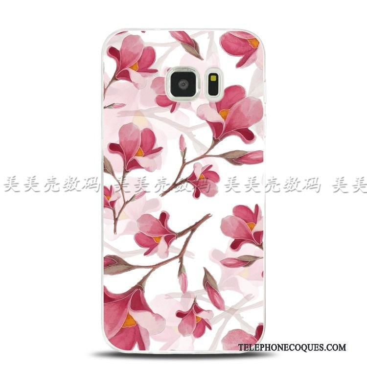 Coque Pour Samsung Galaxy S7 Edge De Téléphone Étui Protection Tout Compris Étoile Support