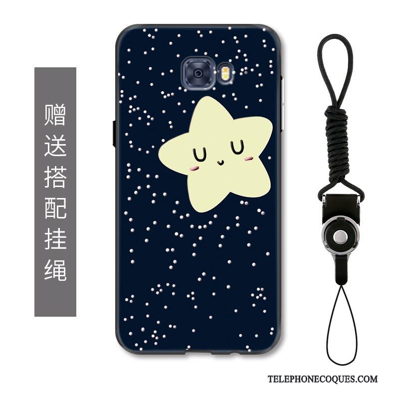 Coque Pour Samsung Galaxy S7 Edge Ornements Suspendus Étoile Dessin Animé Protection De Téléphone Peinte À La Main