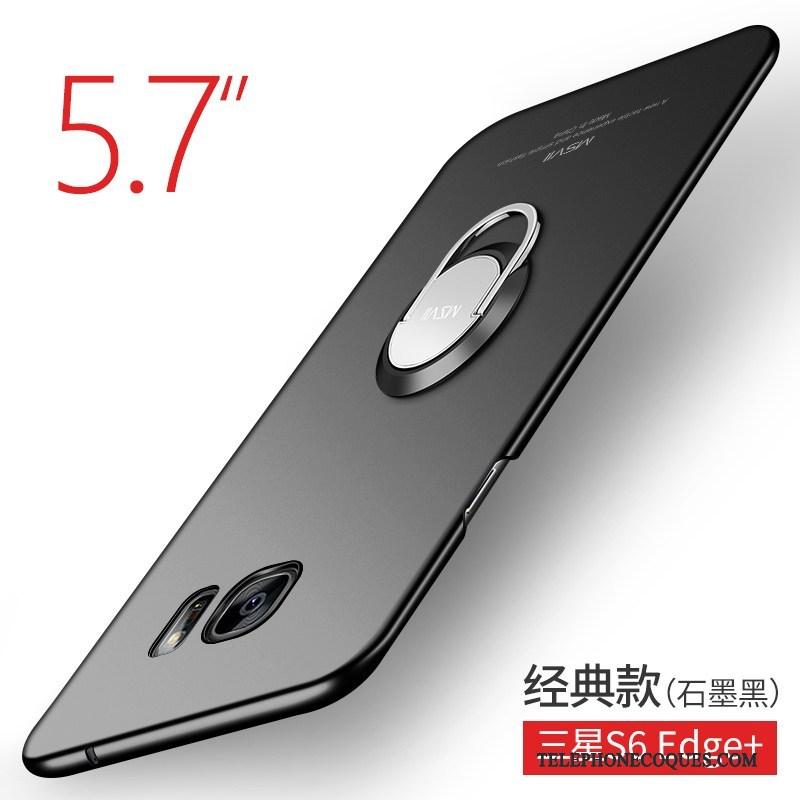 Coque Pour Samsung Galaxy S7 Noir Incassable Tout Compris Étoile Étui