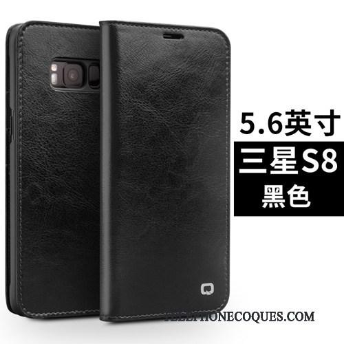 Coque Pour Samsung Galaxy S8+ Étui Housse Étoile De Téléphone Protection Étui En Cuir