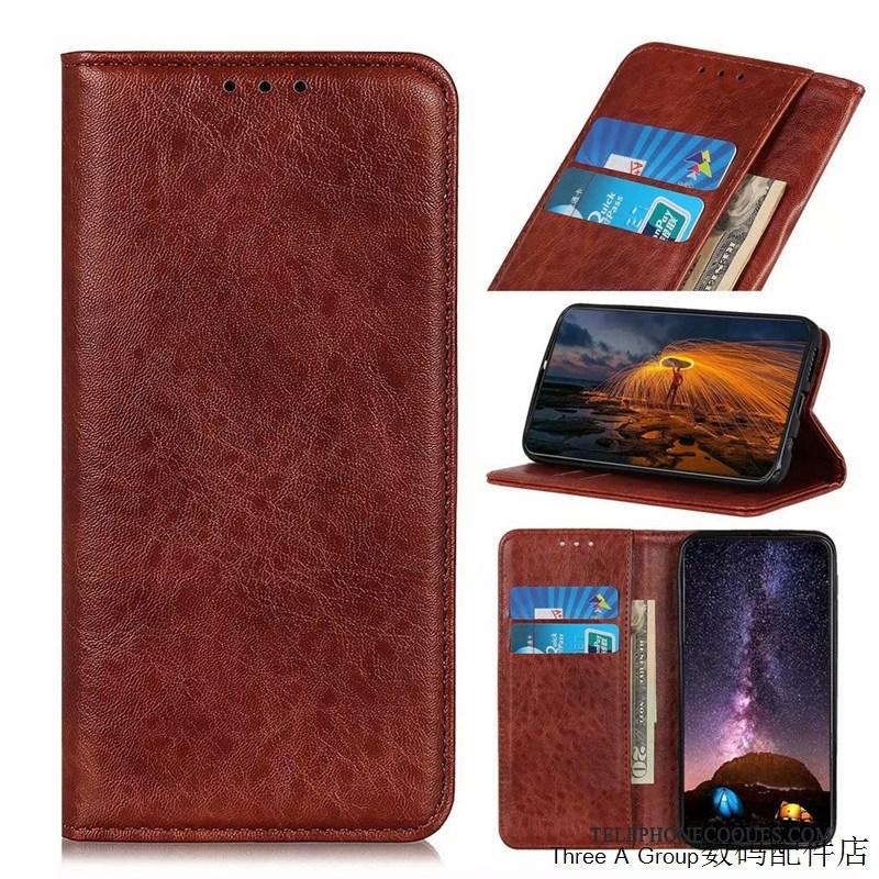 Coque Pour Sony Xperia 1 Ii Étui Simple Protection Bleu Marin Incassable Business