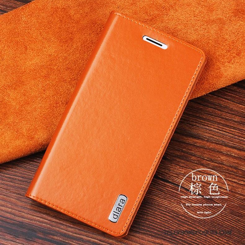 Coque Pour Sony Xperia 10 Plus Étui En Cuir Rouge Protection Téléphone Portable Clamshell
