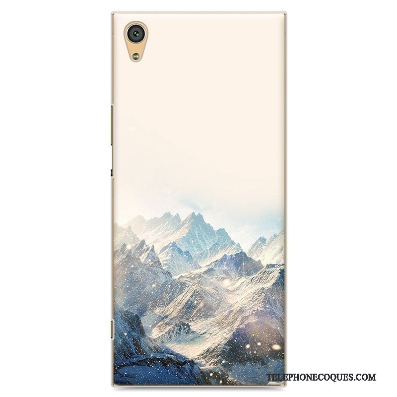 Coque Pour Sony Xperia Xa1 Ultra Peinture De Téléphone Difficile Dessin Animé Étui Protection