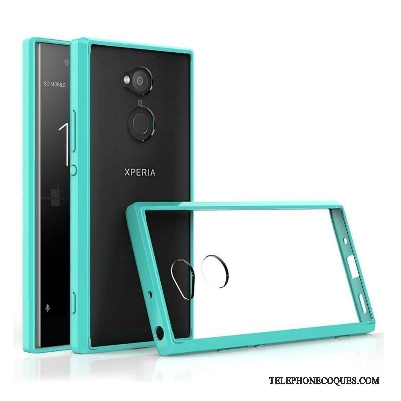 Coque Pour Sony Xperia Xa2 Ultra Border De Téléphone Étui Noir Protection Personnalité