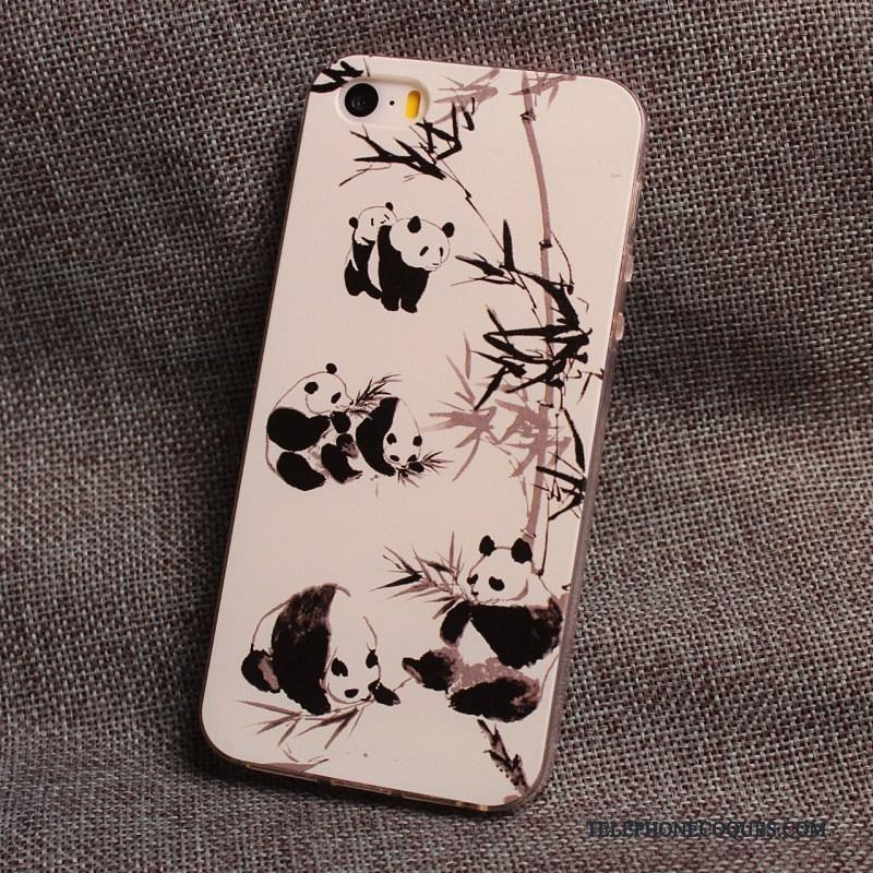 Coque Pour iPhone 5/5s Étui Tout Compris Incassable De Téléphone Charmant Fluide Doux
