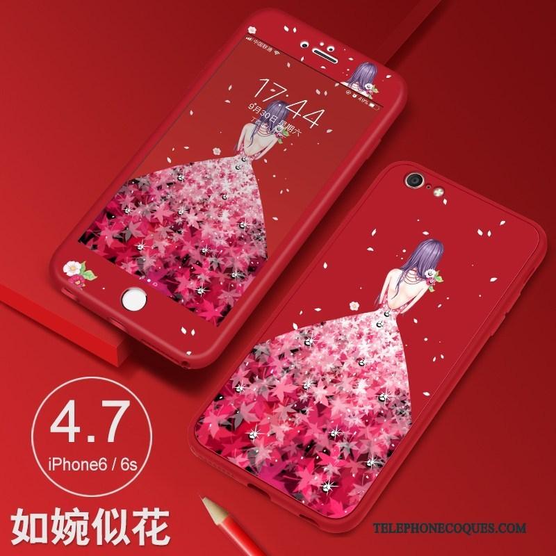 Coque Pour iPhone 6/6s Étui Protection De Téléphone Incassable Silicone Tout Compris