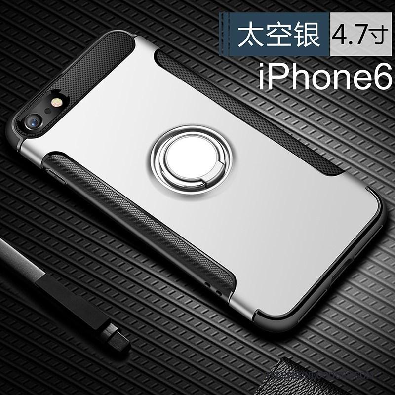 Coque Pour iPhone 6/6s Gris Marque De Tendance Personnalité Silicone Créatif Incassable